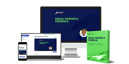 Giving Powerful Feedback Online Course