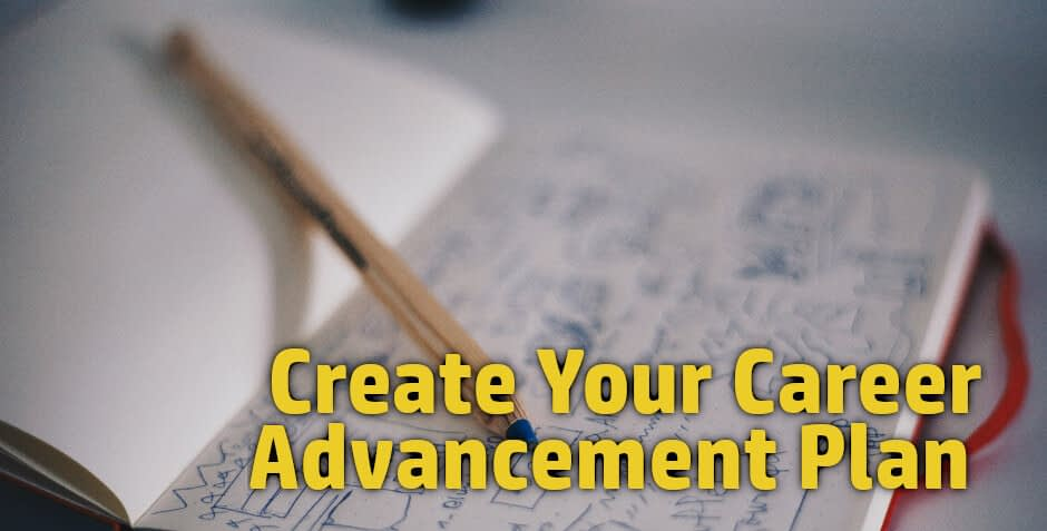A career advancement plan will work for young professionals, mid career professionals in finance, business, information technology, IT, banking, nursing, healthcare clarify the training, courses, and direction of your career.